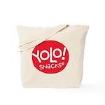 Yolo! Snacks Logo Tote Bag