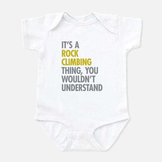 Rock Climbing Thing Infant Bodysuit