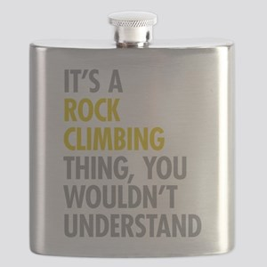 Rock Climbing Thing Flask