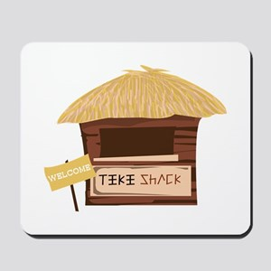 Tiki Shack Welcome Mousepad