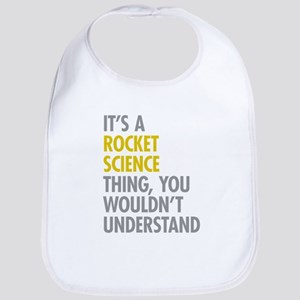 Rocket Science Thing Bib