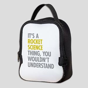 Rocket Science Thing Neoprene Lunch Bag
