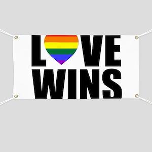 LOVE WINS! Banner