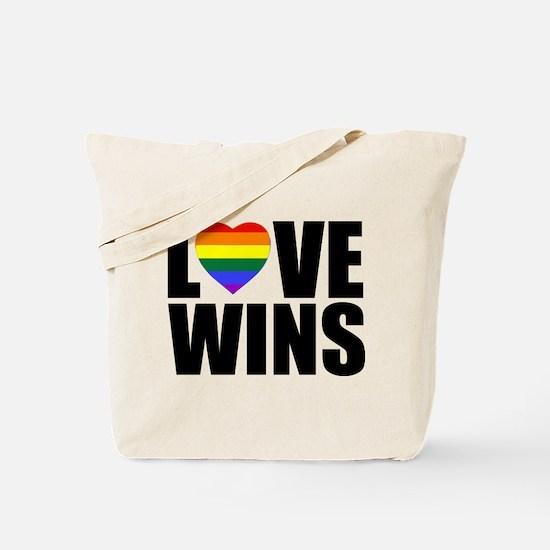 LOVE WINS! Tote Bag