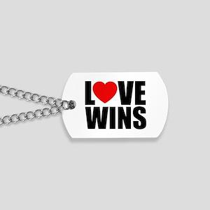 Love Wins! Dog Tags