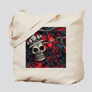 Skull and Spiders Tote Bag