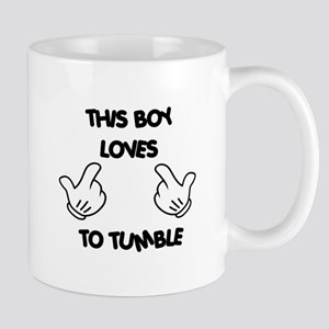 This boy loves tumbling Mug