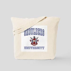 SHOULDERS University Tote Bag