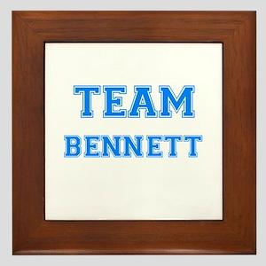 TEAM BENNETT Framed Tile