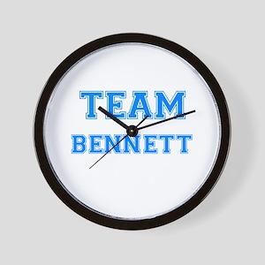 TEAM BENNETT Wall Clock