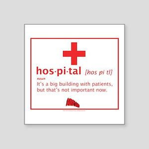 hospital Sticker