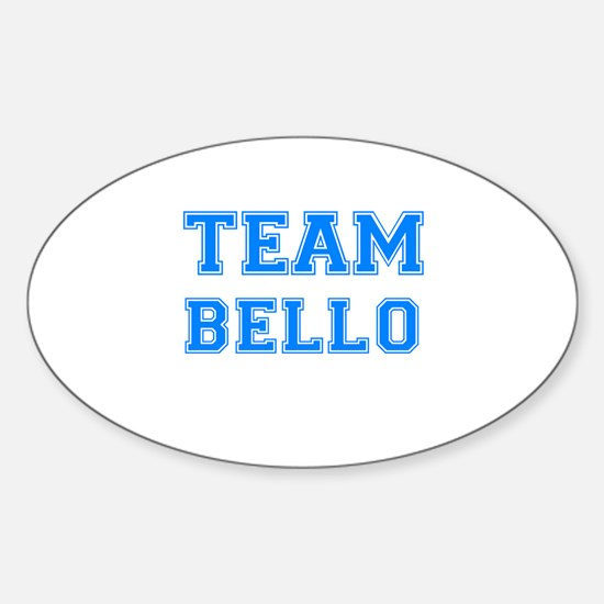 TEAM BELLO Oval Decal