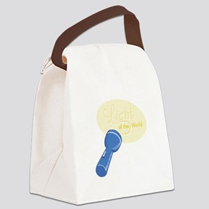 Light Of World Canvas Lunch Bag