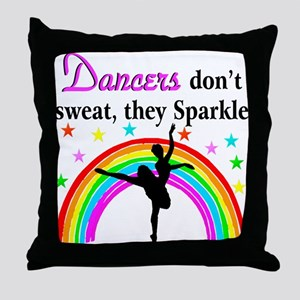 SPARKLING DANCER Throw Pillow