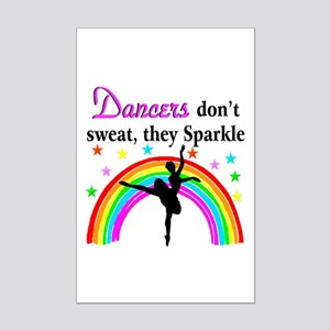 SPARKLING DANCER Mini Poster Print