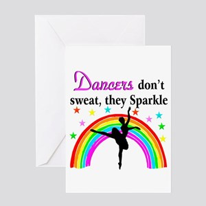 Dance competition greeting cards cafepress sparkling dancer greeting card m4hsunfo