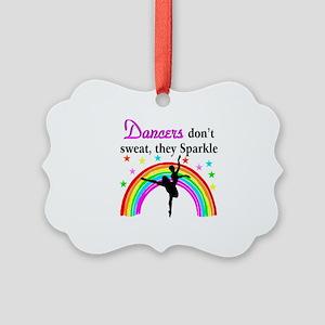 SPARKLING DANCER Picture Ornament