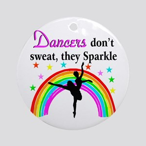 SPARKLING DANCER Ornament (Round)