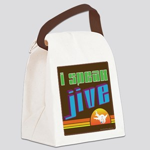 jive Canvas Lunch Bag