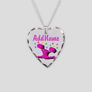 CHEERLEADING STAR Necklace Heart Charm