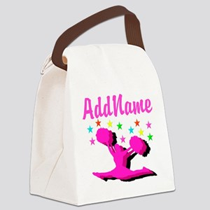 CHEERLEADING STAR Canvas Lunch Bag