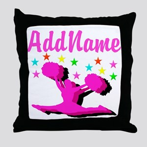 CHEERLEADING STAR Throw Pillow