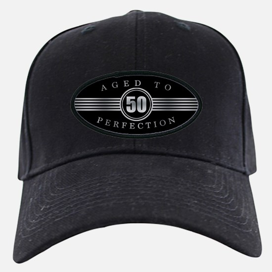 50th Aged To Perfection Baseball Hat