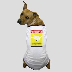 safety_light Dog T-Shirt