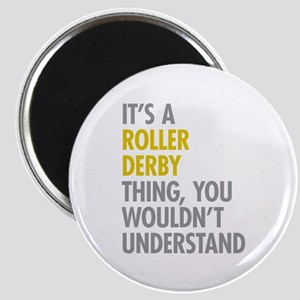 Roller Derby Thing Magnet