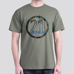21st Birthday Shirt Dark T-Shirt