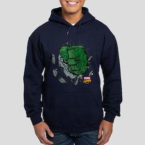 Hulk Fist Hoodie (dark)