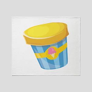 Ice Cream Throw Blanket