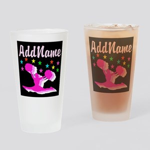 PINK CHEERLEADER Drinking Glass