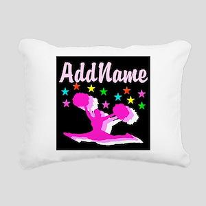 PINK CHEERLEADER Rectangular Canvas Pillow