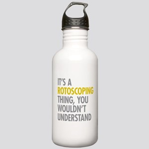 Its A Rotoscoping Thin Stainless Water Bottle 1.0L