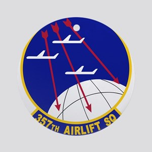 357th Airlift Squadron Ornament (Round)
