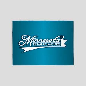 Minnesota State of Mine 5'x7'Area Rug