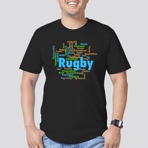 Rugby Word Cloud T-Shirt