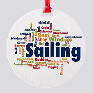 Sailing Ornament