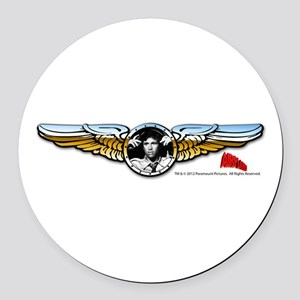 Wings Round Car Magnet