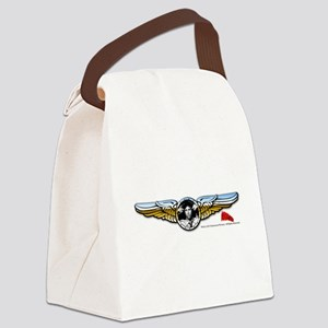Wings Canvas Lunch Bag