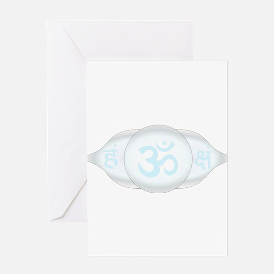 Ajna Third Eye Chakra Greeting Cards