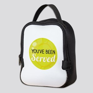 Youve Been Served Neoprene Lunch Bag
