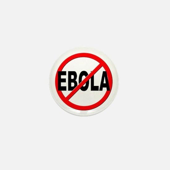 Stop Ebola Mini Button