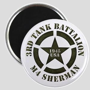 Sherman Tank M4 Magnets