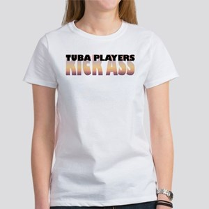 Tuba Players Kick Ass Women's T-Shirt