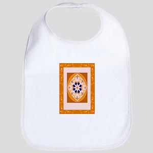 fancy orange magic carpet Bib