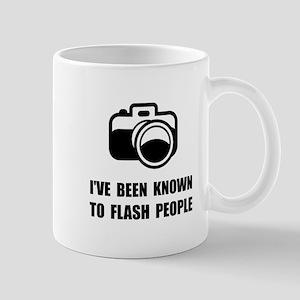Camera Flash People Mugs