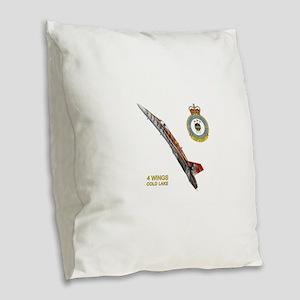 4lakeApp Burlap Throw Pillow
