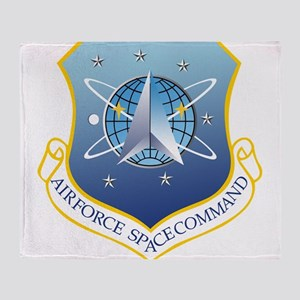Air Force Space Command Throw Blanket